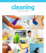 Cleaning Responsive Joomla Template