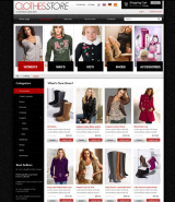 Clothes 2.3 ver. web template