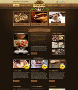 Coffee House web template