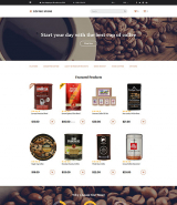 Coffee Store OpenCart Template