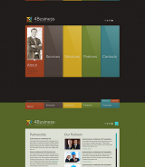 Color Business web template