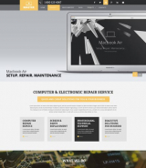 Computer Repair web template