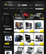 Computer store web template