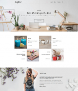 CraftBird - Handmade Artist Personal Blog WordPress Theme