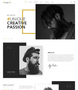 Creative studio web template