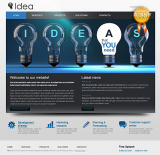CSS Business Idea web template
