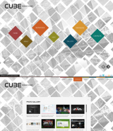 Cube Design web template
