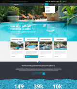 Custom Pools web template