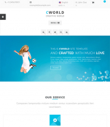 CWorld - Multi-Purpose web template