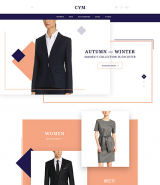 CYM - Urban Clothing OpenCart Template