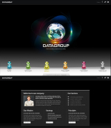 Data Group web template