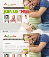 Dating Agency web template