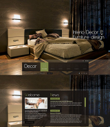 Decor studio web template