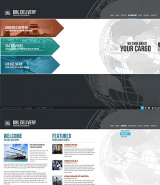 Delivery Company web template