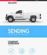 Delivery Services Muse Template