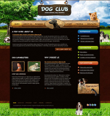 Dog Training web template