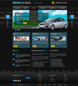 Driving School v2.5 web template