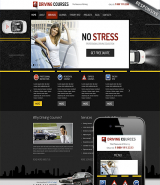 Driving school web template