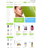 Drugster OpenCart Template