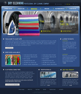 Dry Cleaning web template