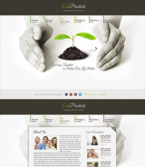 Ecology Products web template
