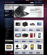 Electronic store 2.3ver web template