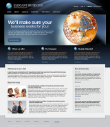 Elegant Business web template