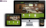 Energy saving web template