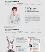 Express Business web template