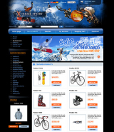 Extrime sport web template