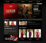 Fashion Company web template