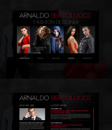 Fashion Designer web template