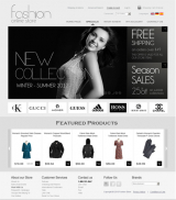 Fashion v2.3 web template