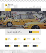 Fast and Furious Cabs WordPress Theme
