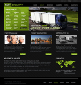 Fast Delivery web template