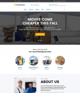 Fast Moving - Transportation & Moving Services WordPress Theme