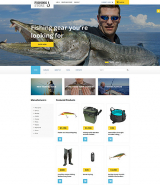 Fishing Responsive VirtueMart Template