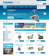 Fishing Store web template