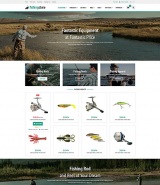 Fishing Supplies OpenCart Template