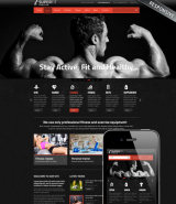Fitness club v3 web template