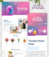 Floralle OpenCart Template