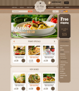 Food Store v2.3 web template