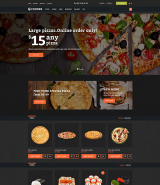 Fooder - Pizza Restaurant With Online Ordering System OpenCart Template