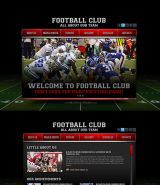 Football Club web template