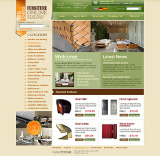 Furniture store web template