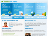 General Solutions web template