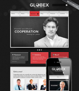 Global Business web template