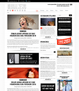 GlobalNews web template