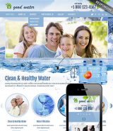 Good water web template