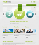 Green energy v2.5 web template